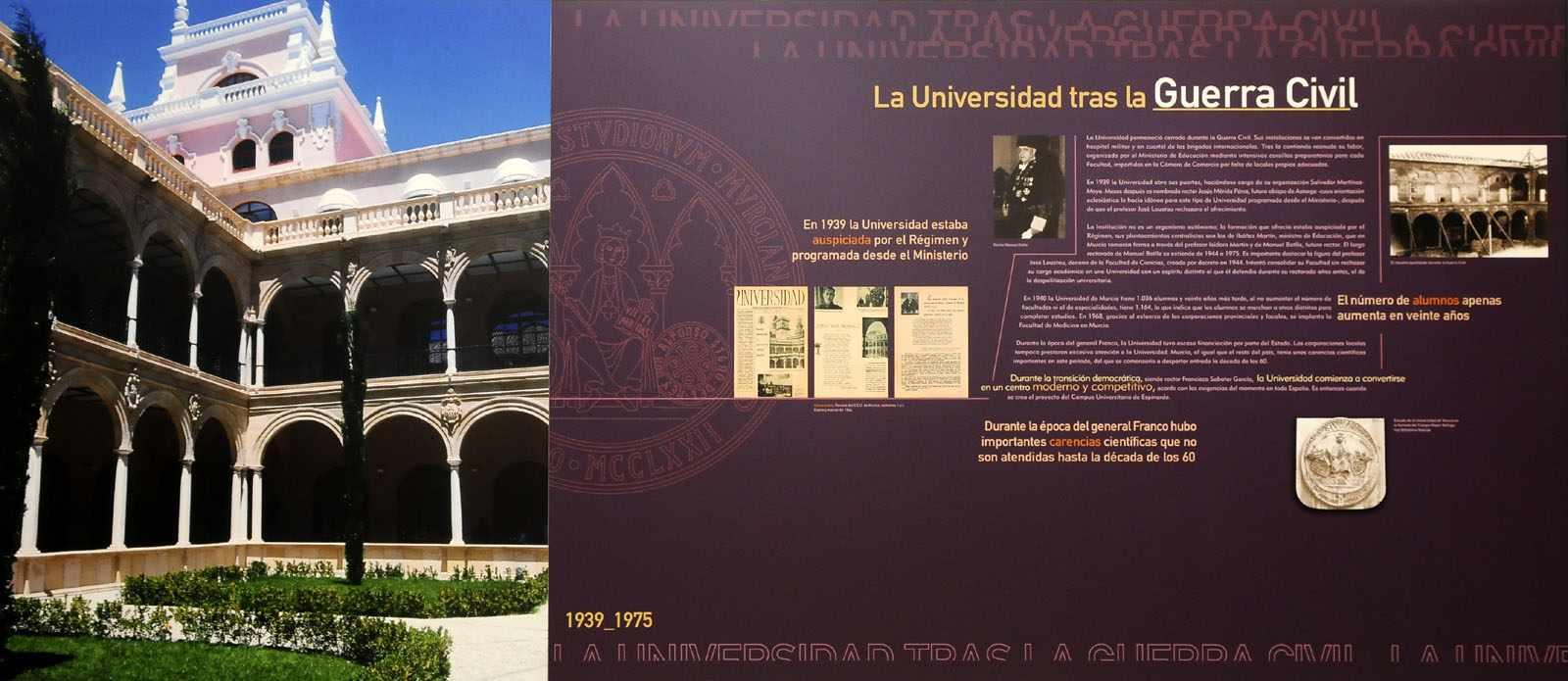 La Universidad tras la Guerra Civil