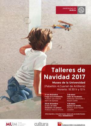Cartel Talleres Navidad 2017