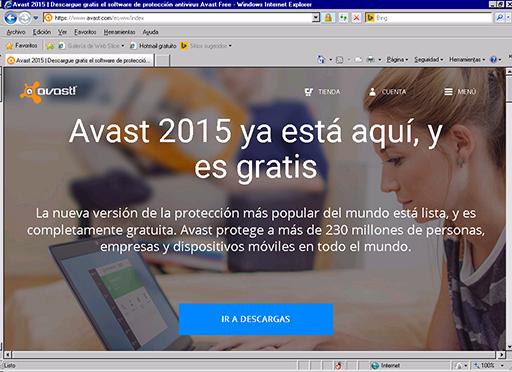 descargar avast gratis en español para windows xp