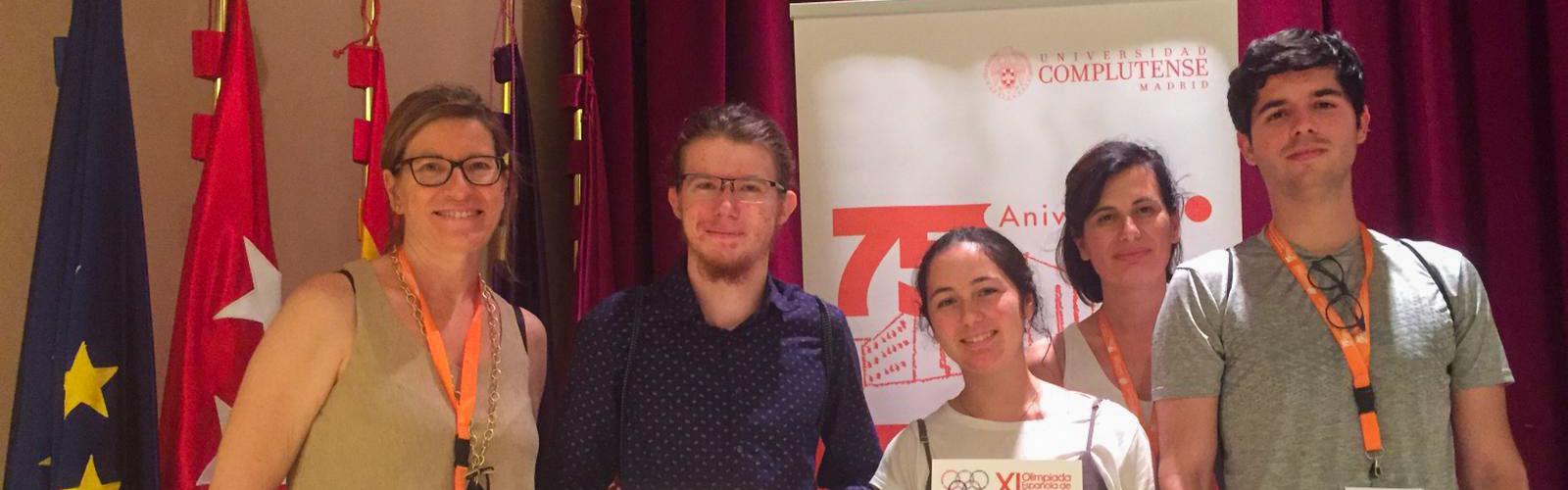 Una de nuestras alumnas, en el equipo de la Región de Murcia que ha obtenido el segundo puesto en la XI Olimpiada Española de Economía