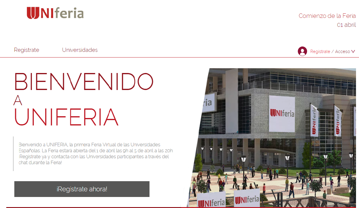 UNIferia, primera feria virtual para los futuros estudiantes universitarios