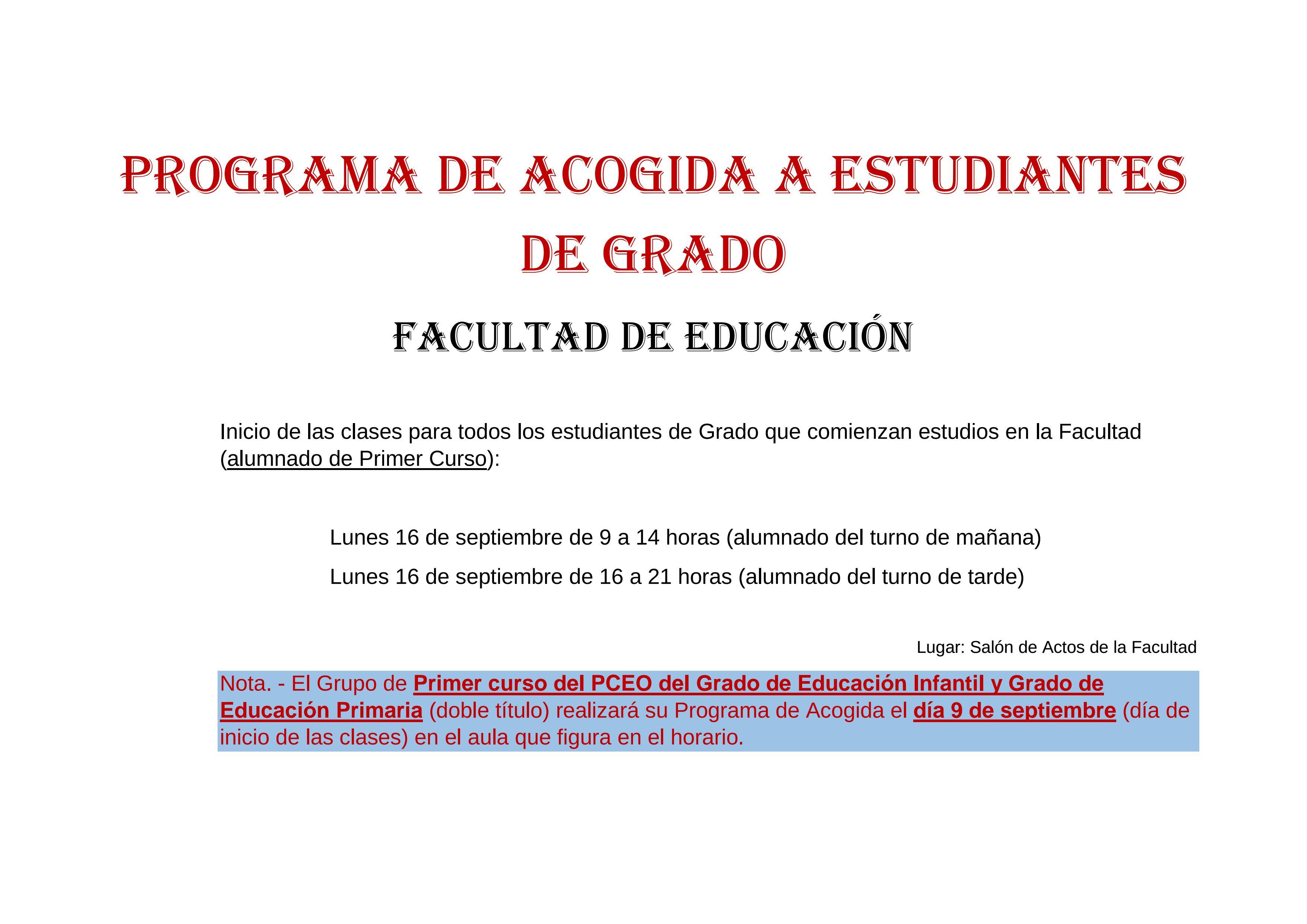 Calendario 2019 Y 2020 Con Festivos Para Colombia.Presentacion Facultad De Educacion Universidad De Murcia