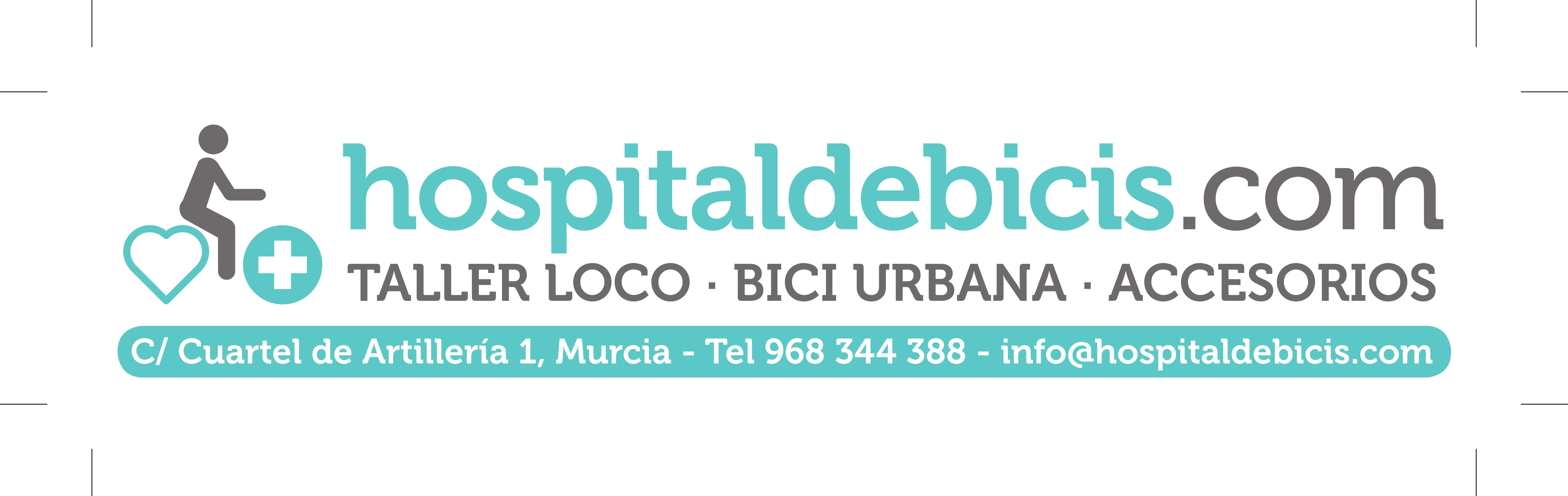 Logotipo hospital de bicis
