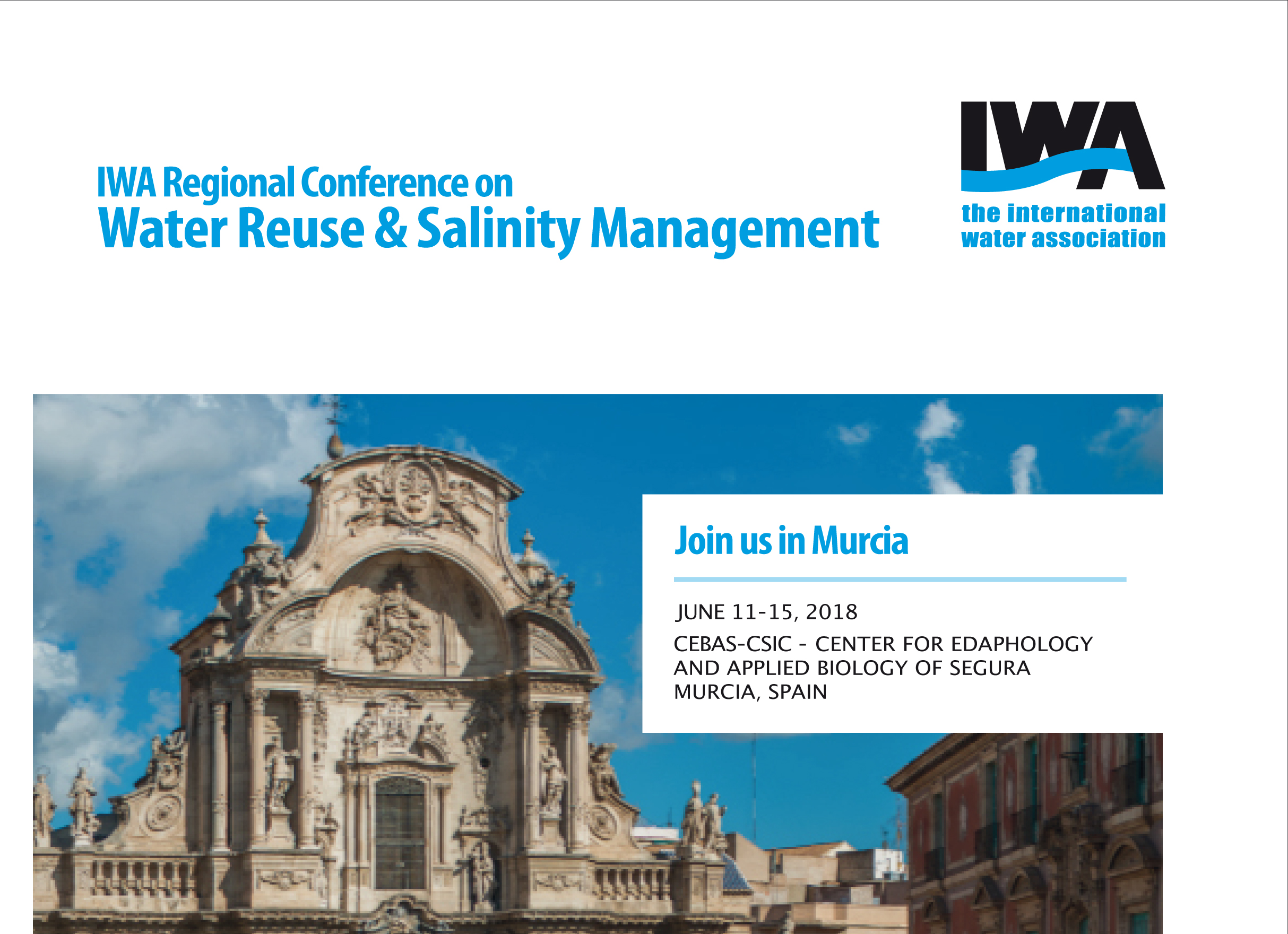 IWA Regional Conference on Water Reuse & Salinity Management