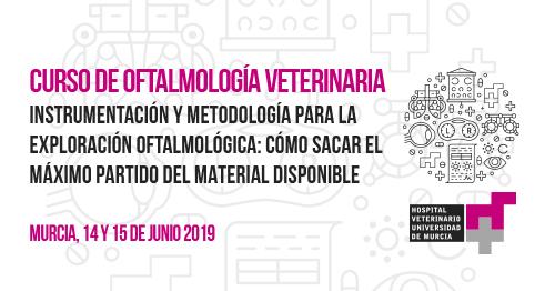 Curso de oftalmología veterinaria, organizado por el Hospital Veterinario UMU