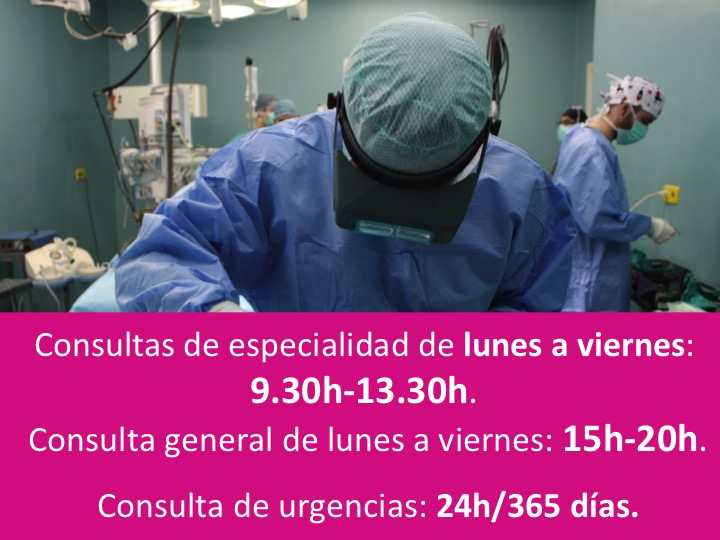Concultas de especialidad y general del hospital veterinario murcia