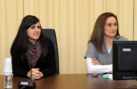 Seminario de jóvenes investigadores: María del Mar Rosa Martínez y Alicia Bermejo ( 2013)