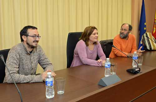 Mª Dolores Rincón Torrano, Ginés Mateo Rocamora y Alejandro Moreno Lax (2014)