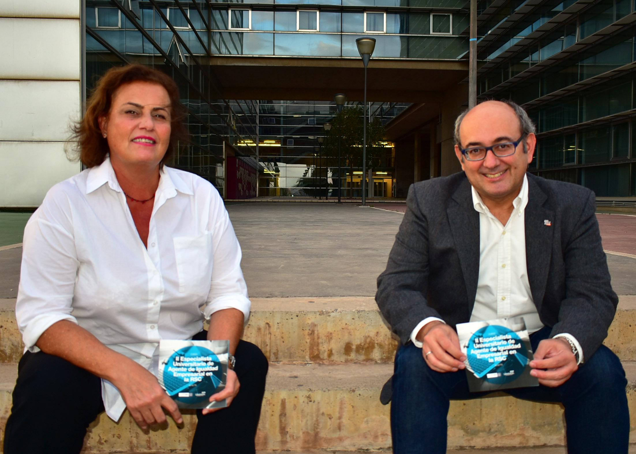 El Curso de Igualdad de la Universidad de Murcia lo coordinan Ana Jiménez-Alfaro y Pedro J. Cuestas