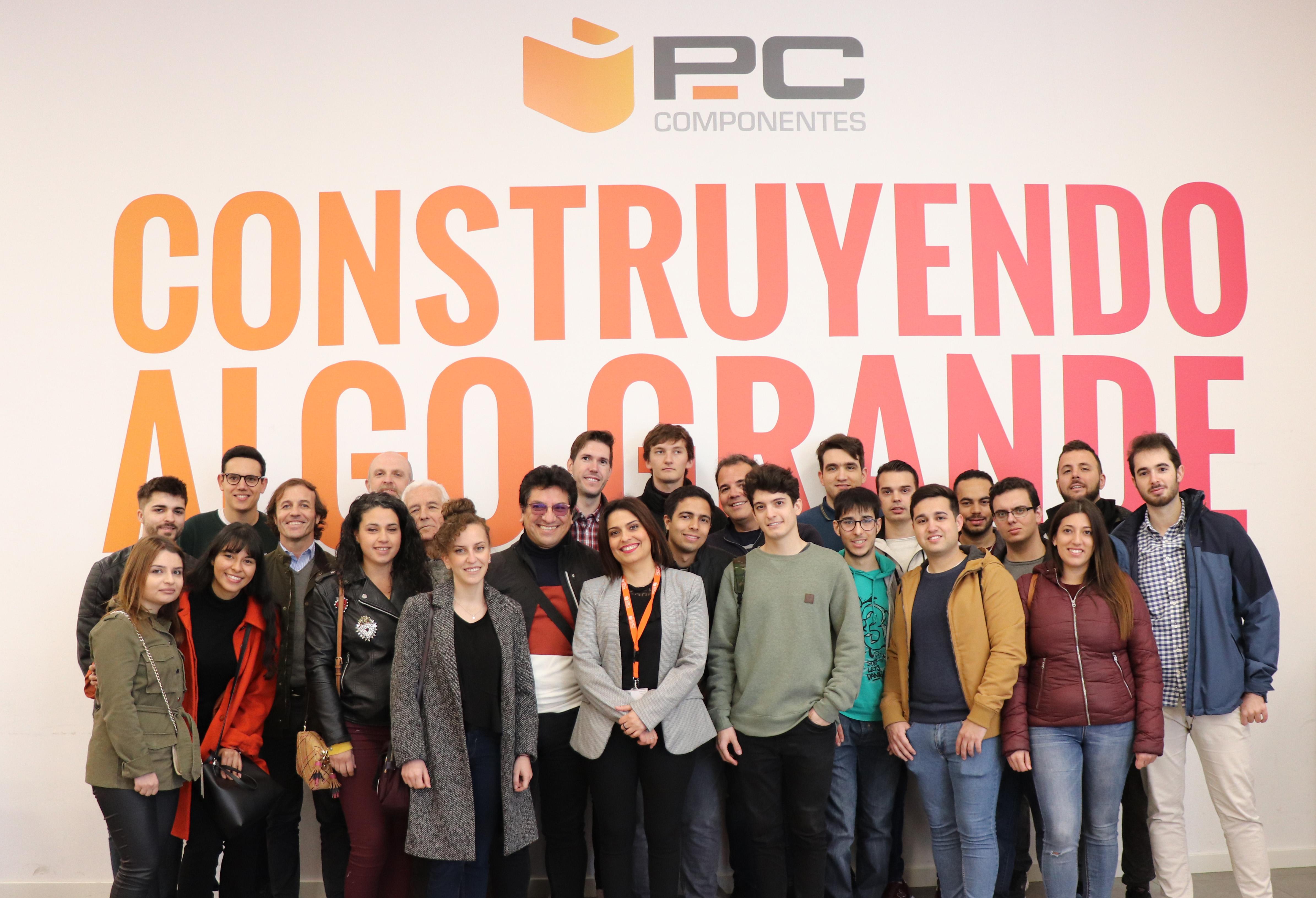 Primera actividad de Turismo Empresarial UMU de 2020 en PC Componentes y Novagric