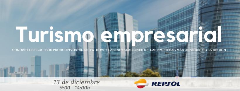 Turismo Empresarial. 13 diciembre 2019. REPSOL.