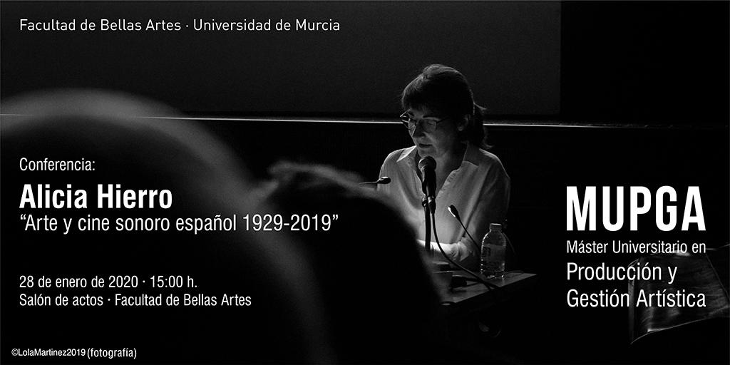 Conferencia de Alicia Hierro.