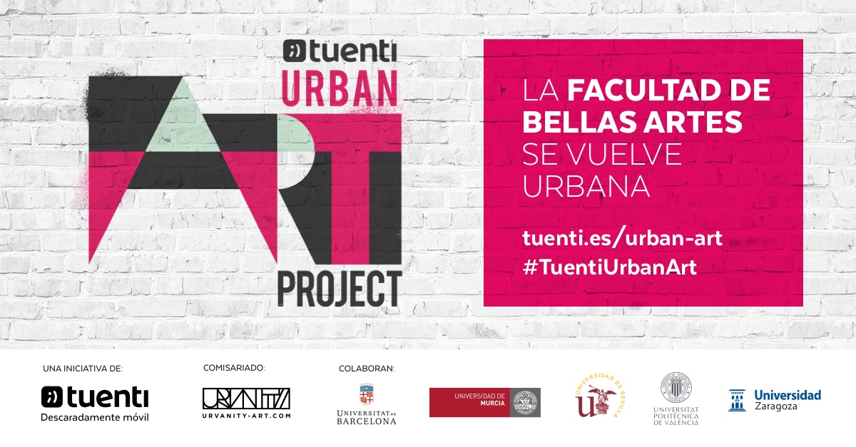 Tuenti Urban Art Project 2017
