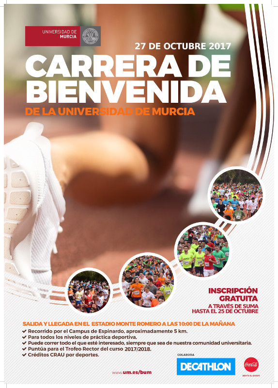 Cartel 10ª Carrera Popular