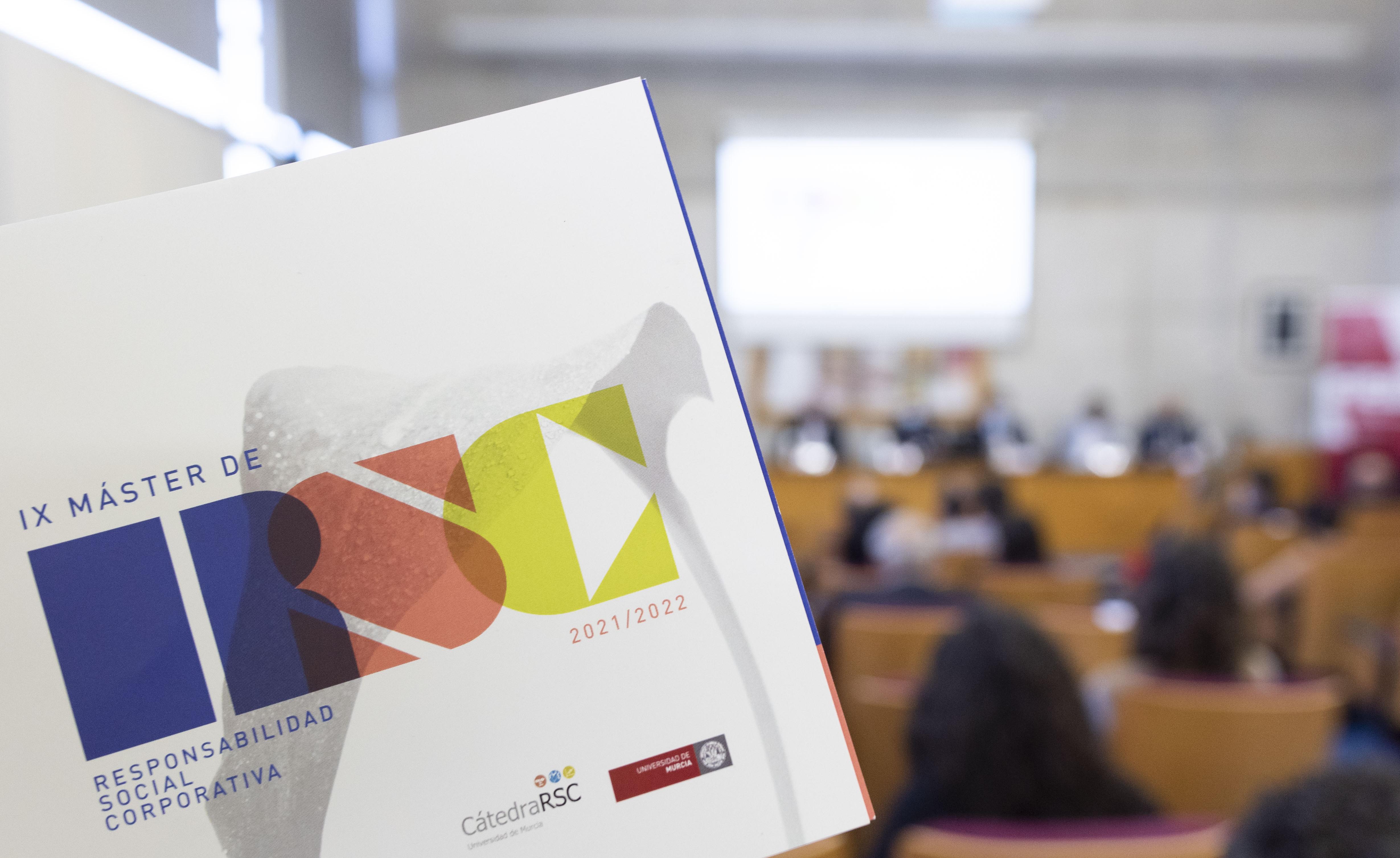 La UMU inaugura la novena edición de su Máster en RSC