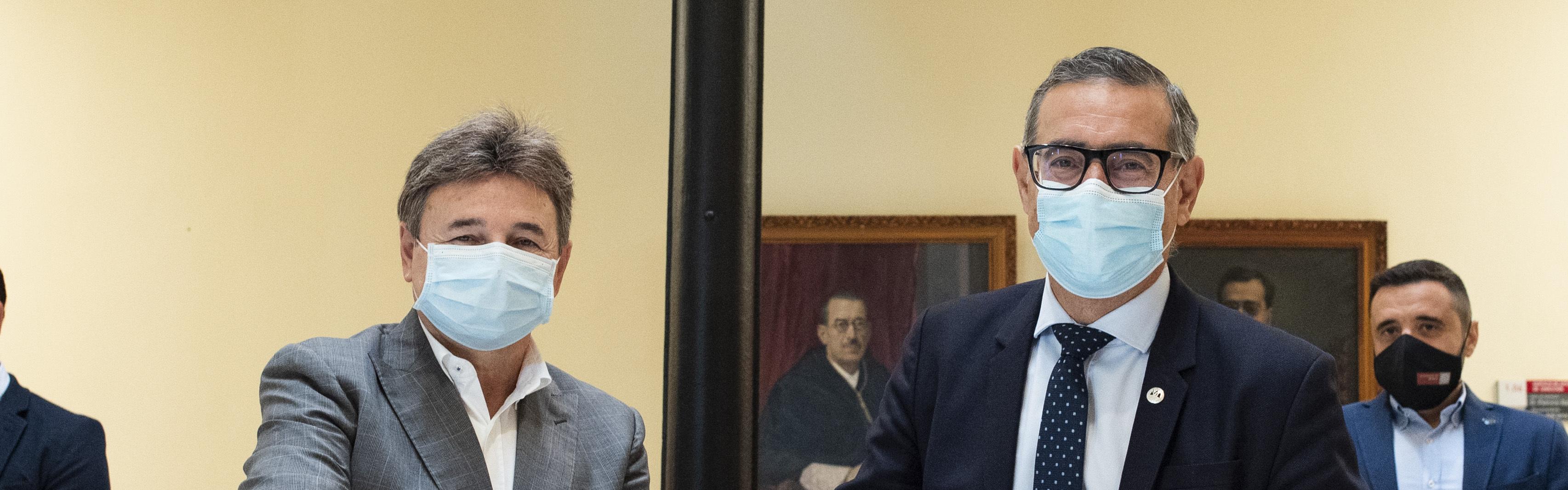 La UMU y el Real Murcia estrechan lazos de colaboración