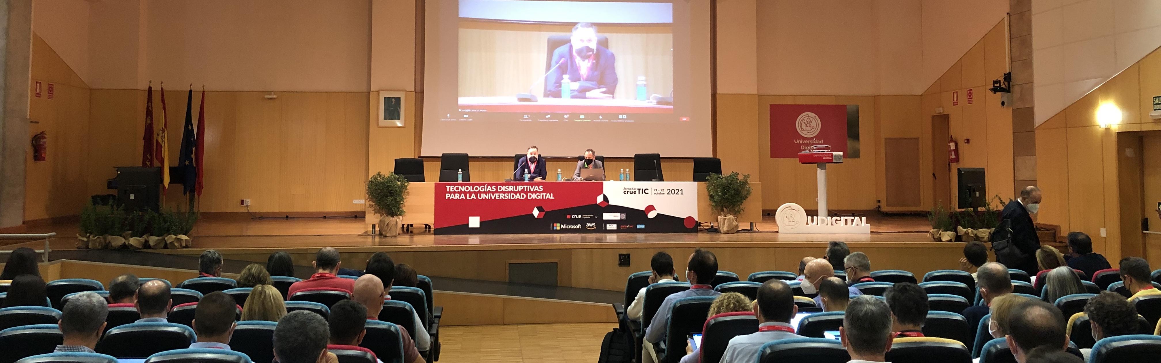 La Transformación Digital, a debate en las Jornadas Crue-TIC 2021