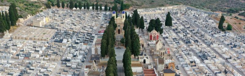 Exposición sobre el cementerio de Los Remedios