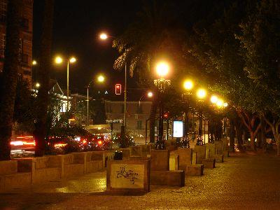 Light pollution in Murcia (Spain)