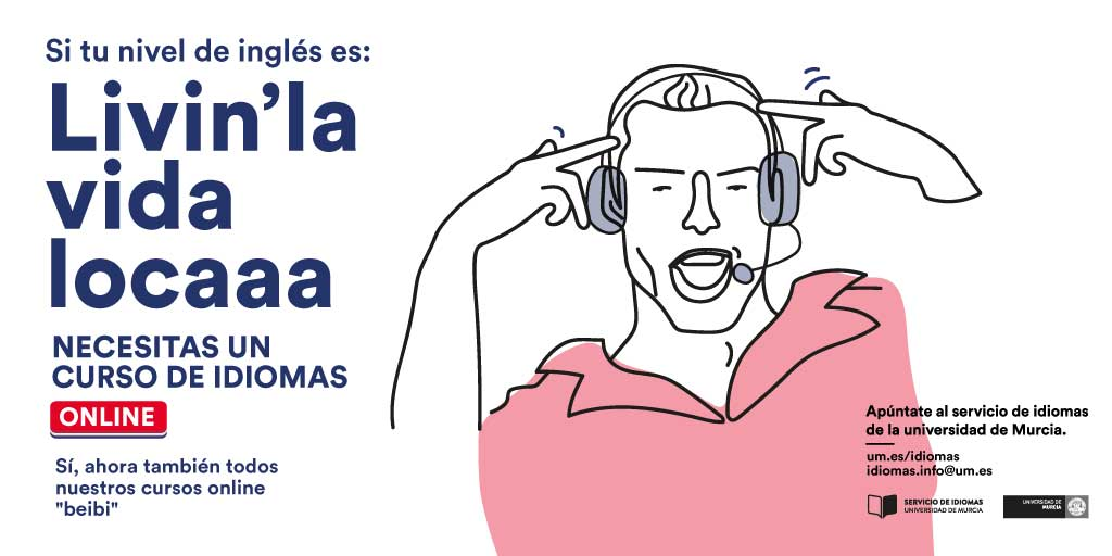 Éxito en la inscripción en los cursos de idiomas de la Universidad de Murcia