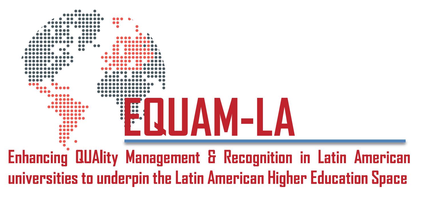 Reunión virtual del Project Management Team del proyecto Erasmus+ EQUAM-LA coordinado por la UMU para el desarrollo del Espacio Latinoamericano de Educación Superior