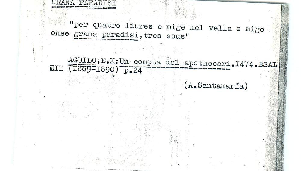 Vista ampliada de la ficha escaneada por la fundación Juan March con el texto para la entrada grana ( 21 de 28 )