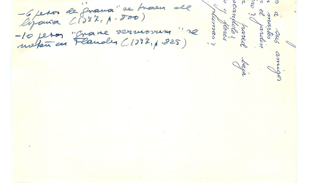 Vista ampliada de la ficha escaneada con el texto para la entrada grana ( 24 de 103 )