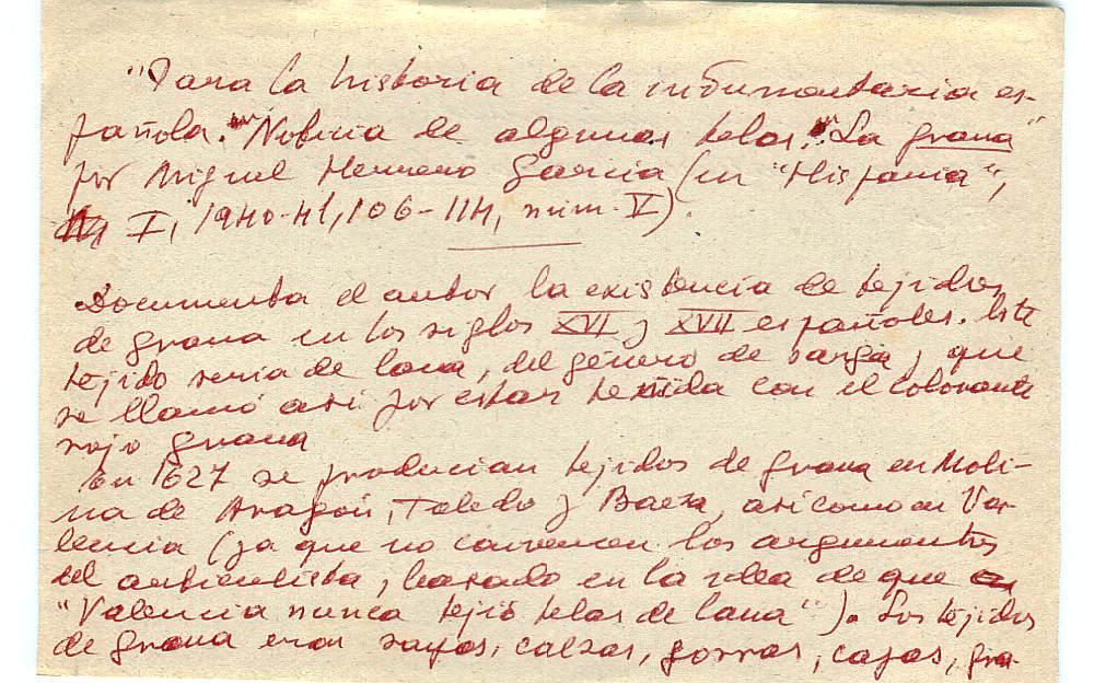 Vista ampliada de la ficha escaneada con el texto para la entrada grana ( 31 de 103 )