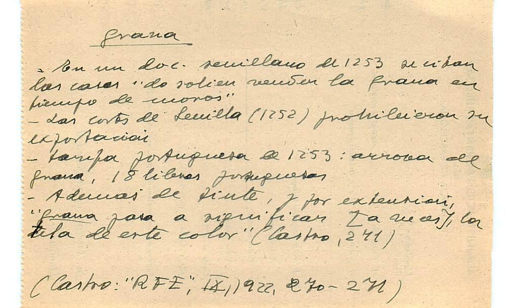 Vista ampliada de la ficha escaneada con el texto para la entrada grana ( 40 de 103 )