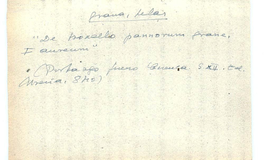 Vista ampliada de la ficha escaneada con el texto para la entrada grana ( 50 de 103 )