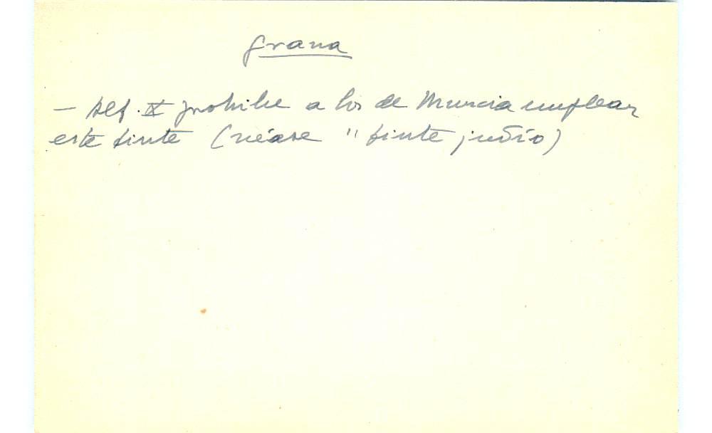 Vista ampliada de la ficha escaneada con el texto para la entrada grana ( 56 de 103 )