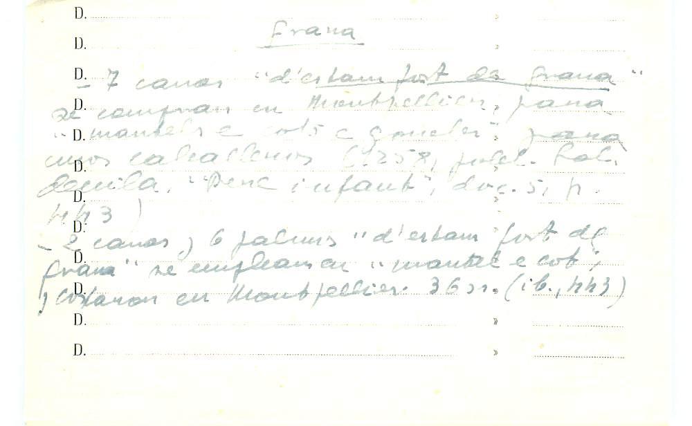 Vista ampliada de la ficha escaneada con el texto para la entrada grana ( 64 de 103 )