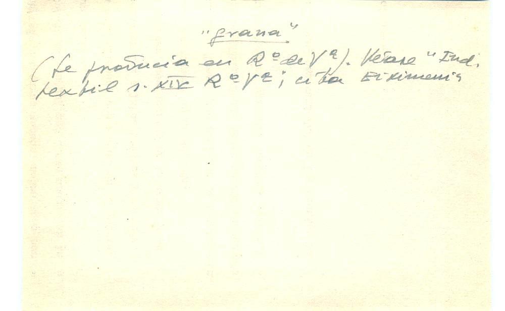 Vista ampliada de la ficha escaneada con el texto para la entrada grana ( 84 de 103 )