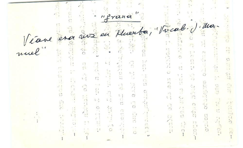 Vista ampliada de la ficha escaneada con el texto para la entrada grana ( 87 de 103 )