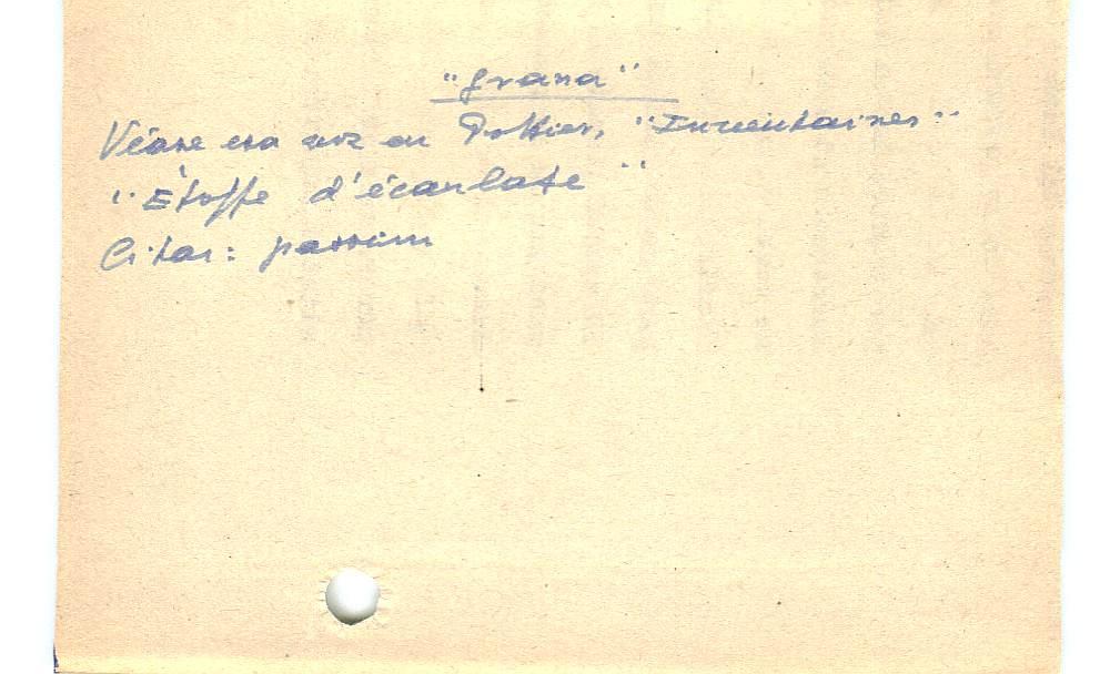 Vista ampliada de la ficha escaneada con el texto para la entrada grana ( 88 de 103 )