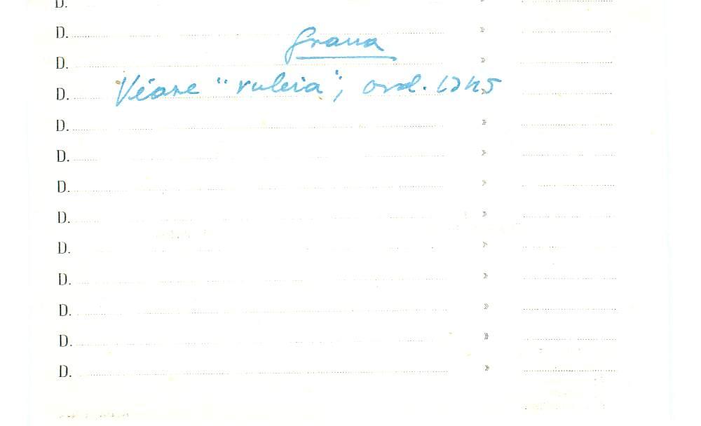 Vista ampliada de la ficha escaneada con el texto para la entrada grana ( 89 de 103 )