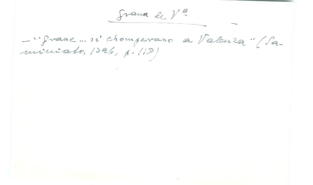 Vista ampliada de la ficha escaneada con el texto para la entrada grana ( 94 de 103 )