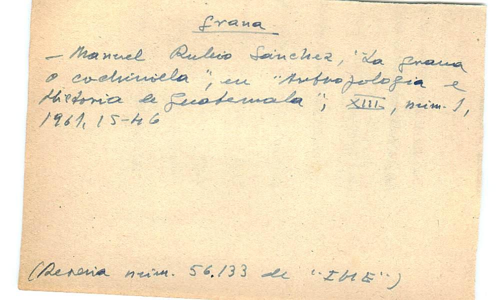 Vista ampliada de la ficha escaneada con el texto para la entrada grana ( 96 de 103 )