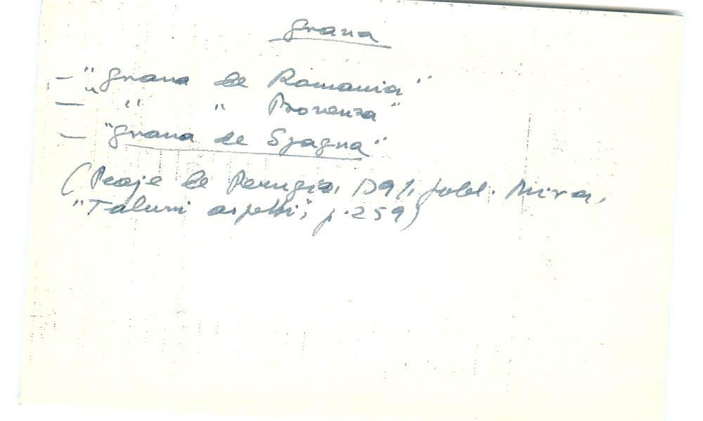 Vista ampliada de la ficha escaneada con el texto para la entrada grana ( 98 de 103 )