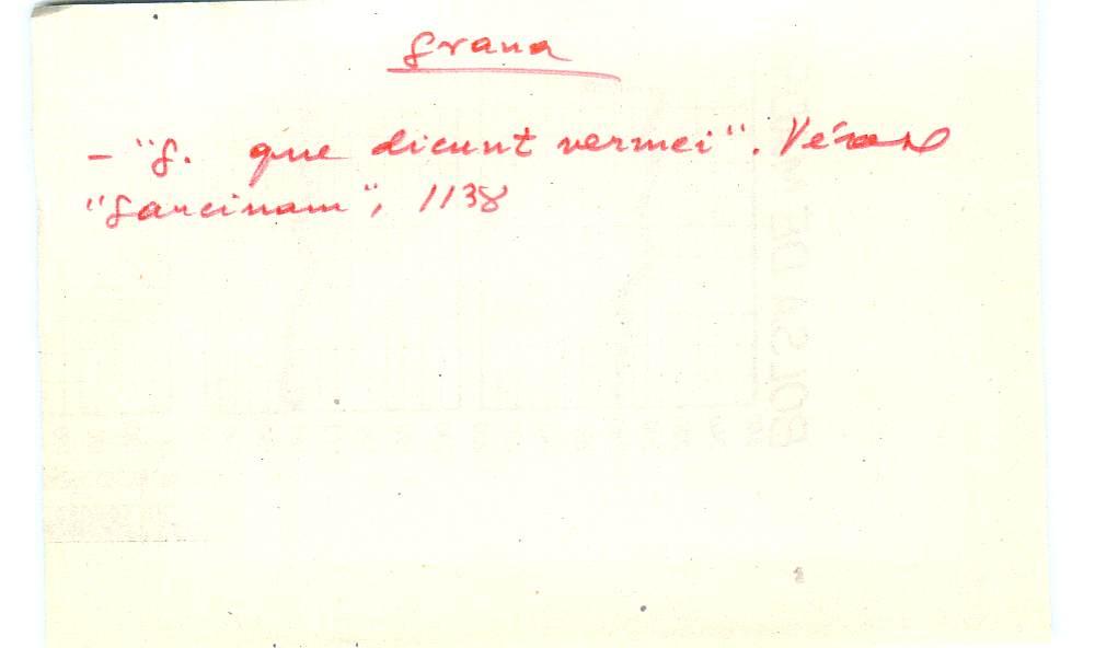 Vista ampliada de la ficha escaneada con el texto para la entrada grana ( 102 de 103 )