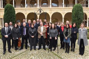 MobiAbility team. Kick-off meeting, January 17th, 2017, University of Murcia (Spain)