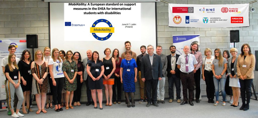 MobiAbility team and other participants in the final project meeting in Lublin