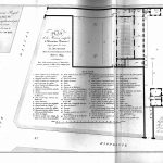 Plano de situación y planta de las escuelas de enseñanza mutua y párvulos. París. Cochin