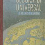 Geografía Universal. Segundo curso.