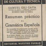 Resumen práctico de Gramática Española