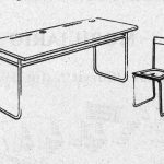 Mesa modelo 'Costa'.