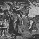 """Führich: """"La marcha de María por el Monte""""."""