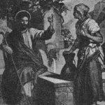 "Hofmann: ""Jesús y la samaritana""."