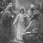 """Hofmann: """"Jesús en el templo""""."""
