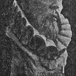 Busto de Cervantes.